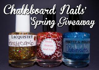 Chalkboard Nails giveaway
