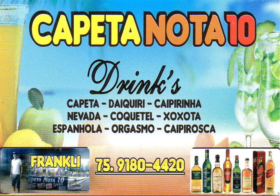 CAPETA NOTA 10