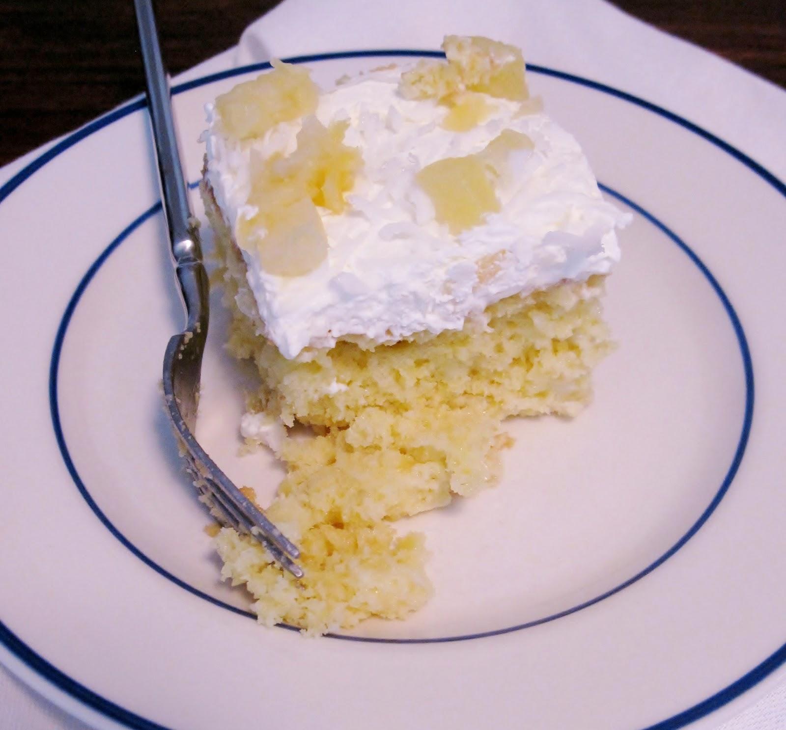 Pina colada cake and Proteas - a miusmie