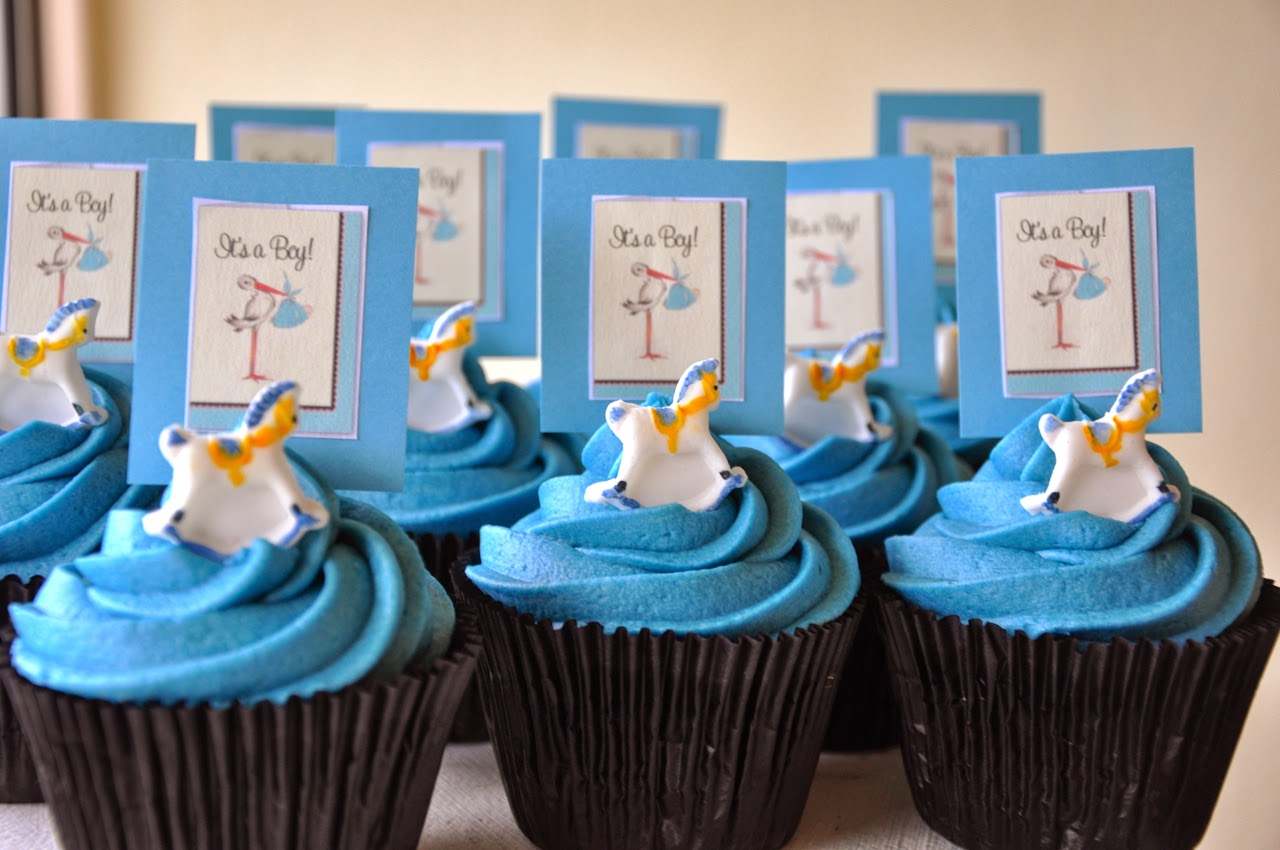 ... Baby shower cupcakes for a boy from TheFoodClass in Durbanville, Cape
