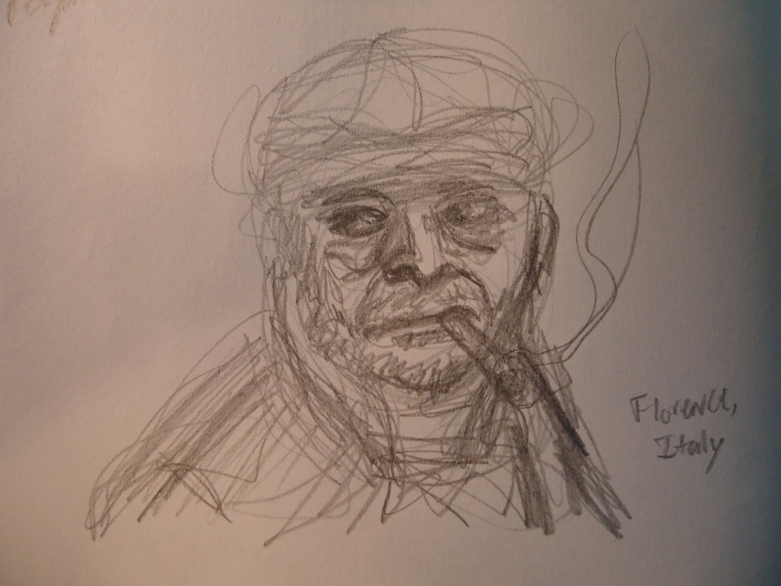 philip a buck a sketch tastic tuesday or people are challenging i used this painting a self portrait by painter tintoretto as reference for the tighter sketch below after my fun squashing and stretching of the figure