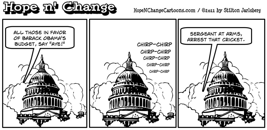The Senate unanimously votes against Barack Obama's POS budget, hopenchange, hope n' change, hope and change, stilton jarlsberg