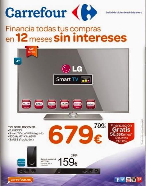 Oferta Televisor LG por 679 euros 1-6-2015