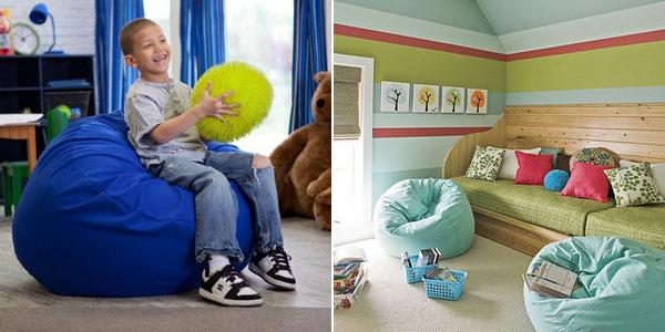 Decoracion Salones Yoga ~ Puff especial de niños para decorar su casa ~ decoracion de salones