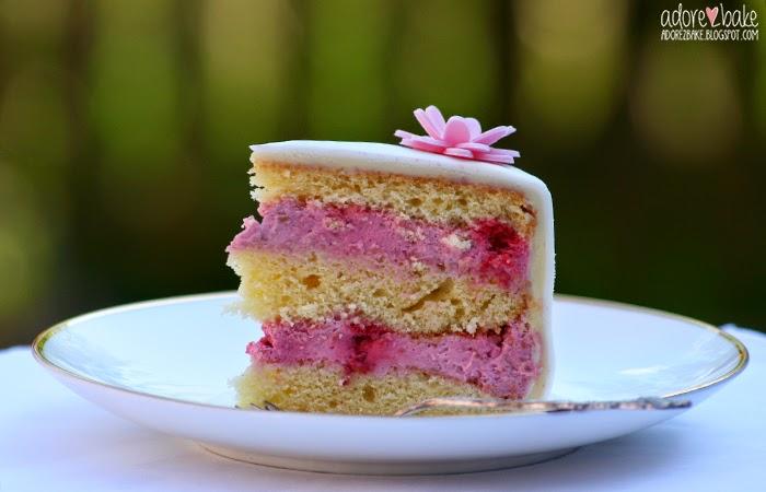 Kuchen mit fondant fullung