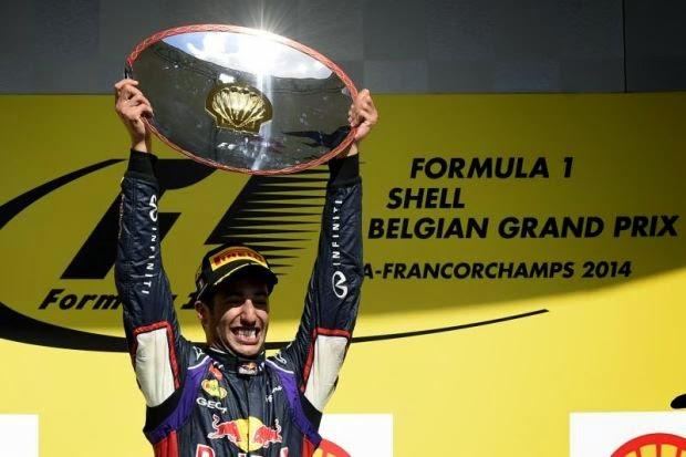 Keputusan Penuh F1 GP Belgium 2014