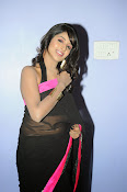 Isha Ranganath glam pics in saree-thumbnail-2