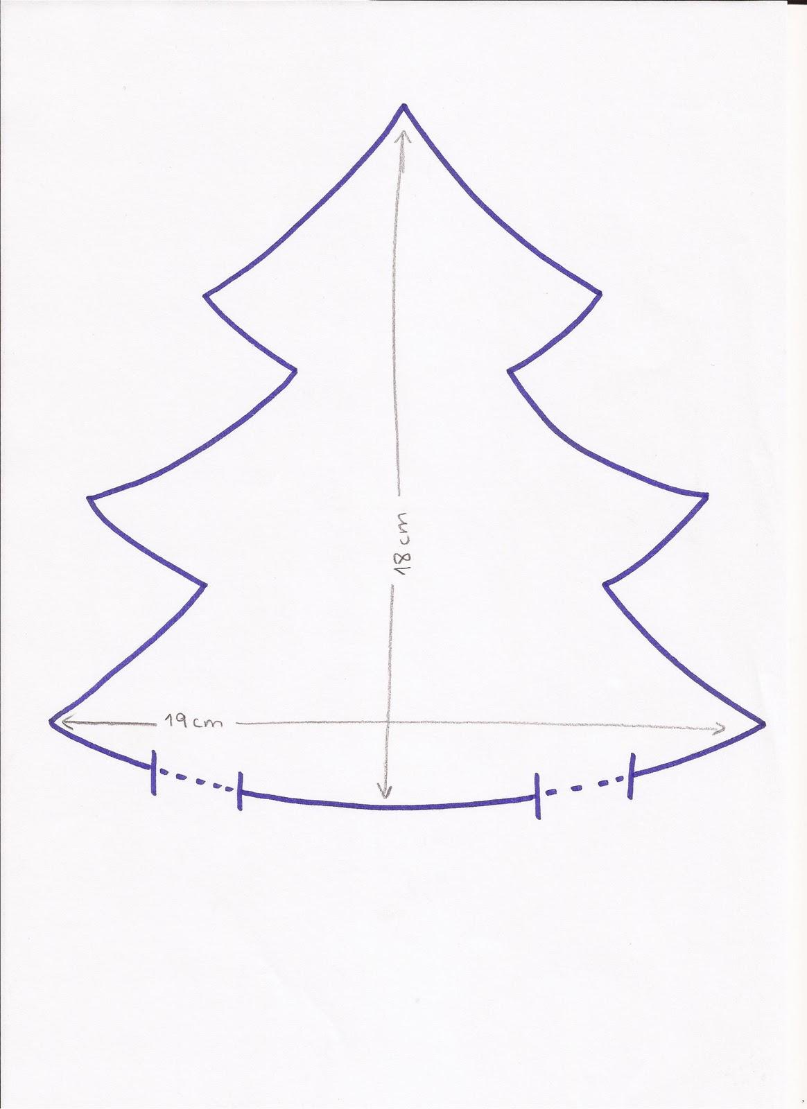 Tutorial para hacer un arbol de navidad con patchwork - Hacer arbol navidad ...