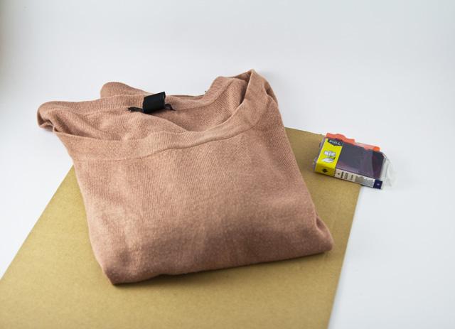 DIY Pullover Druckertinte Bedrucken