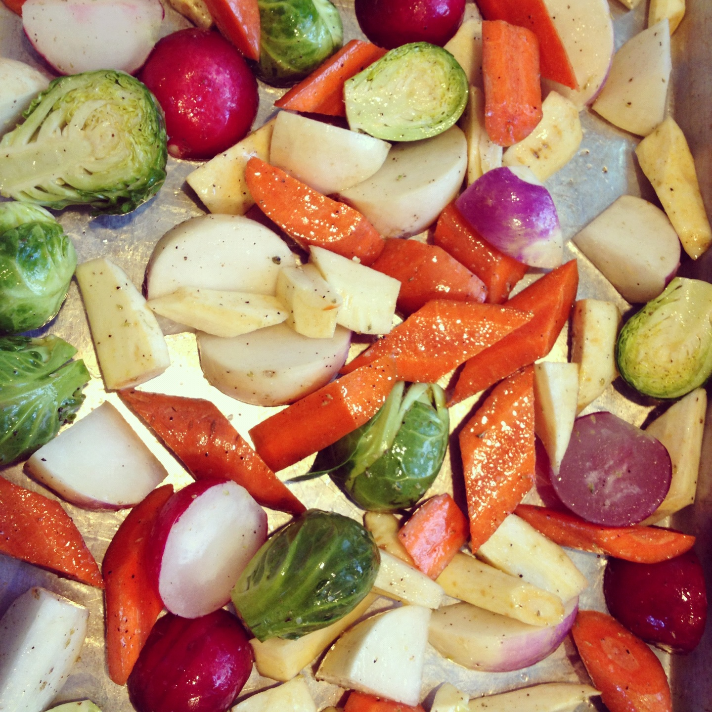 roasted winter and root vegetables | Adventures of Cecelia Bedelia