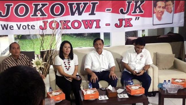 Dukungan Militer kepada Jokowi
