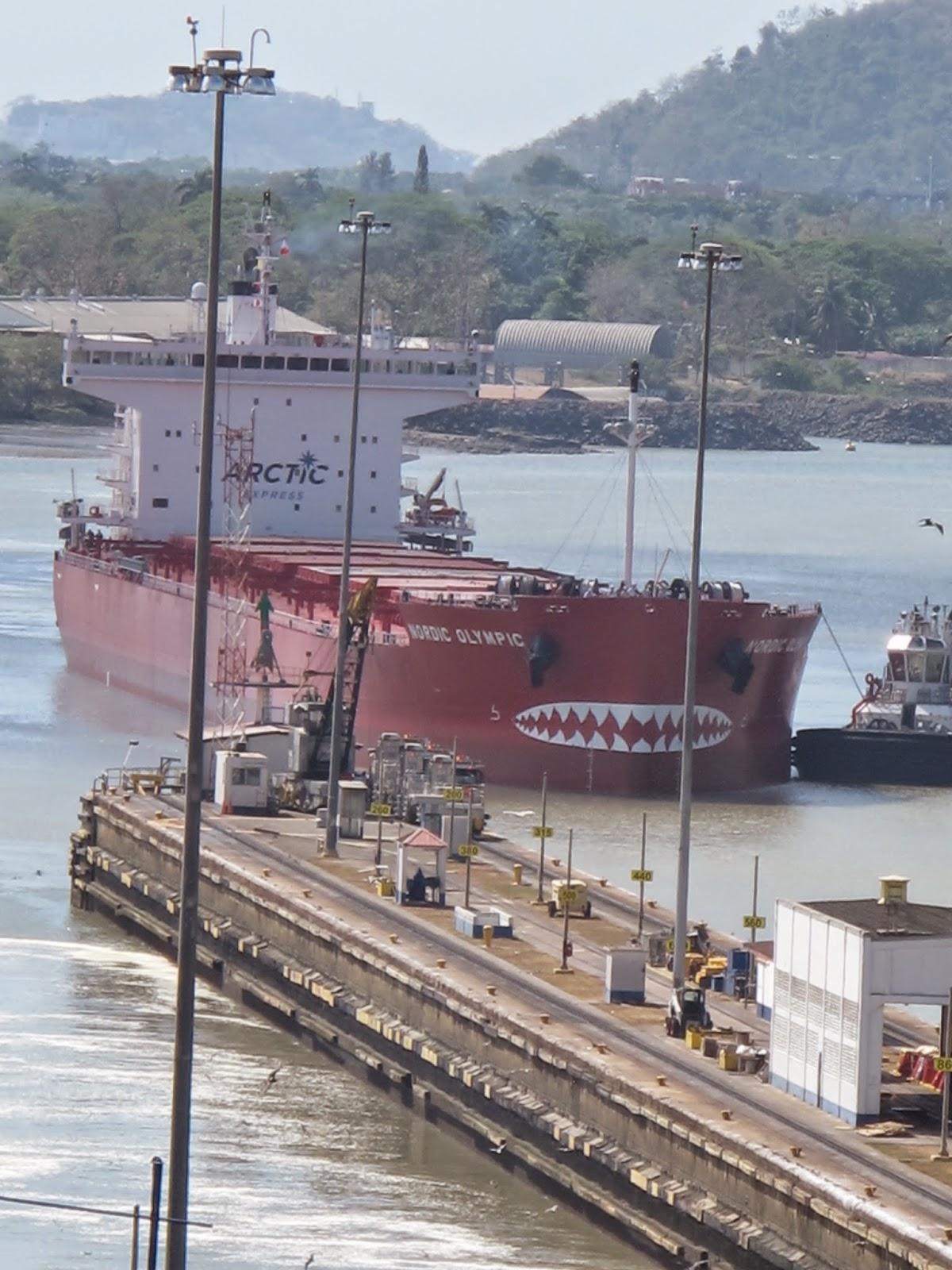 viagem ao canal panama com criança navios