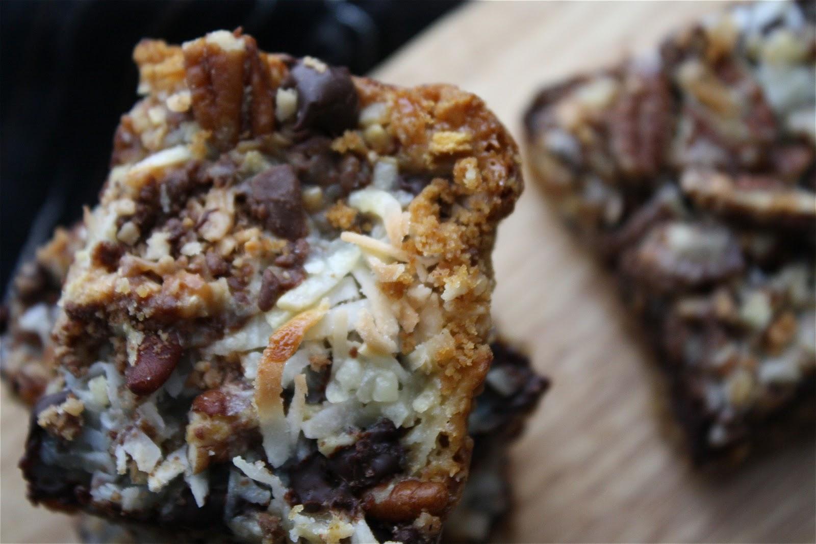 The Traveling Spoon Seven Layer Magic Bars 12 Weeks Of Christmas Cookies Week 10