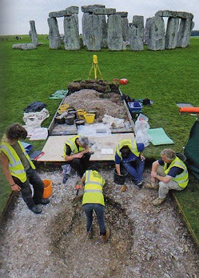 One working four watching - modern archaeology in practice!!