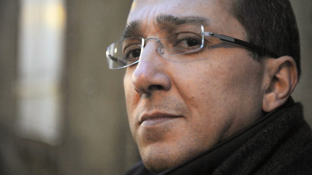 Faouzi Lamdaoui, conseiller de François Hollande, le 23 février 2012 au Mans (Sarthe)