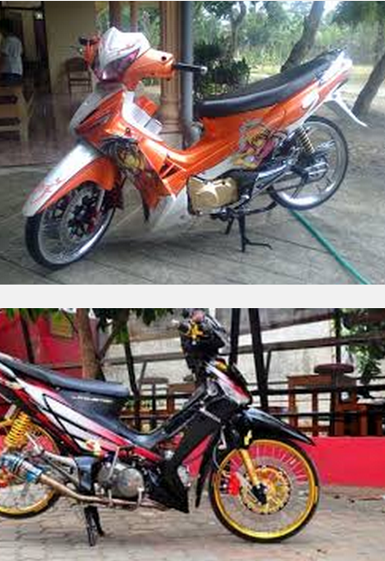 modifikasi motor honda supra fit new terbaru