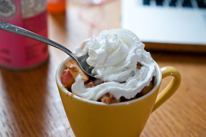 Healthy Apple Pie... In A Cup!