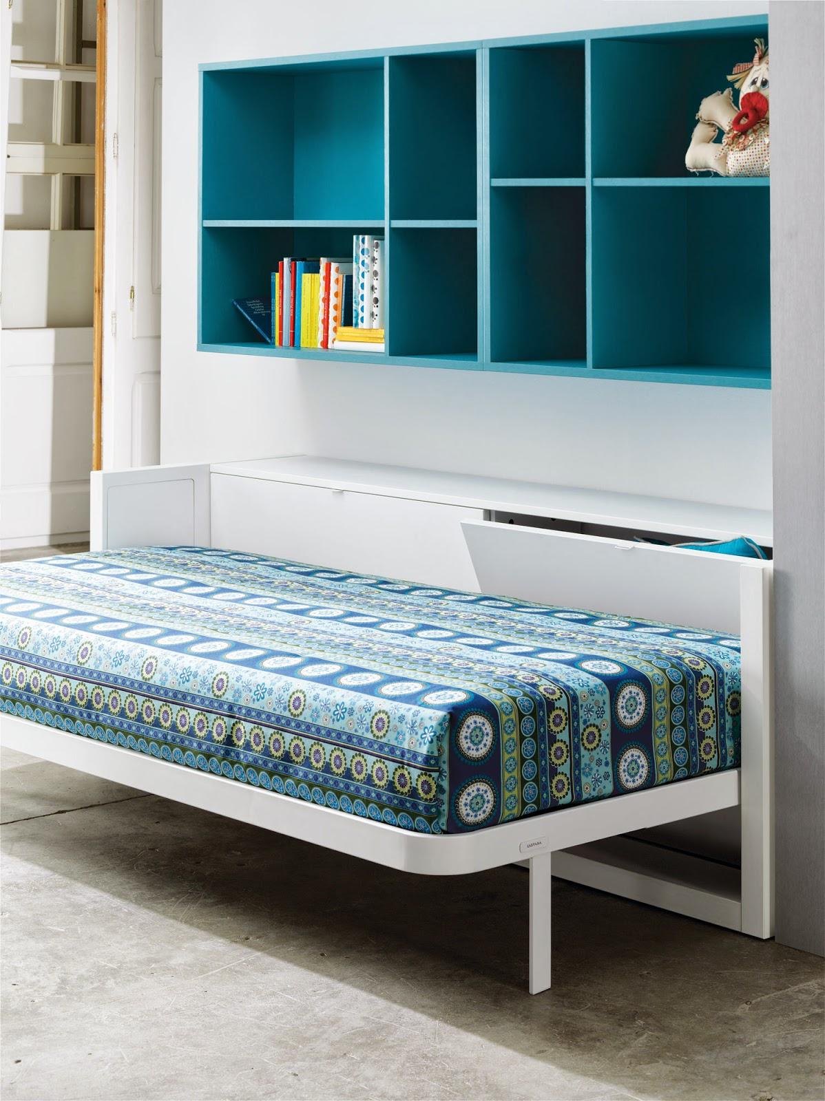 Muebles convertibles literas y camas abatibles for Dormitorios juveniles literas
