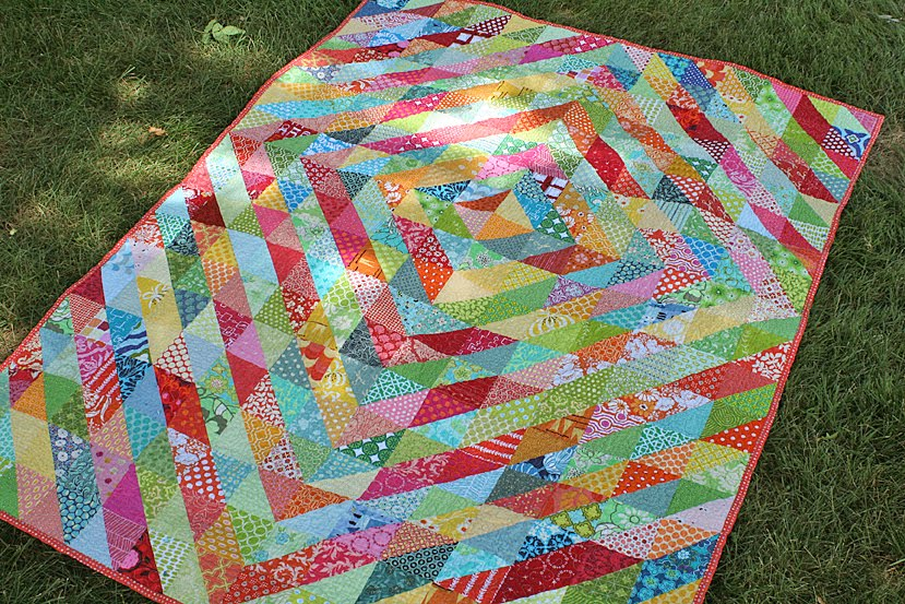 BQF: Warm Cool Quilt – Freshly Pieced : cool quilt patterns - Adamdwight.com