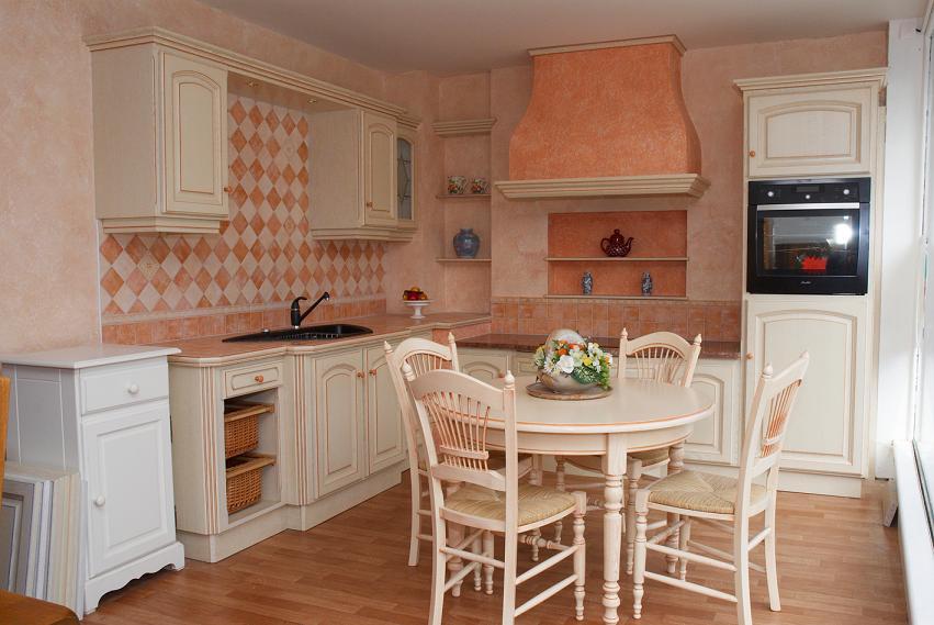 Le blog de caradec cr ations profitez d une cuisine de - Modele de cuisine champetre ...