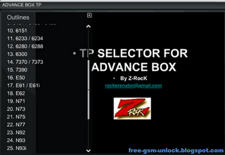 TP Selector for Advance BOX