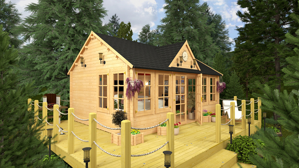 Small Garden Shed Converted Into Home