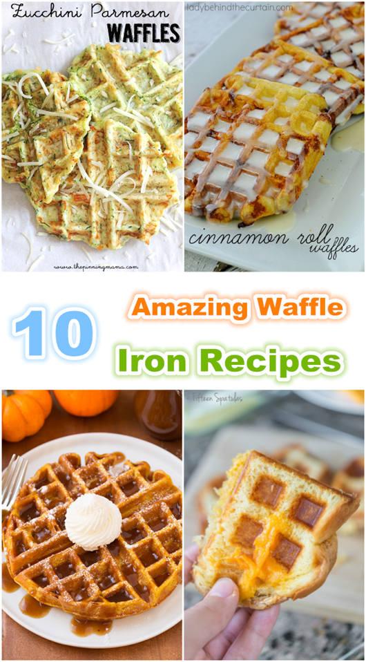 10 Amazing Waffle Iron Recipes