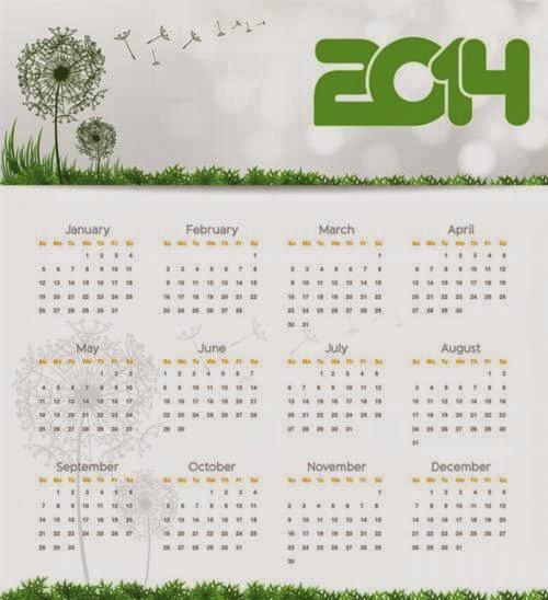 descargar calendario 2014 el siguiente calendario anual está