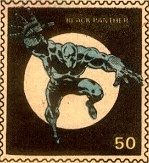 Black Panther Marvel Value Stamp #50