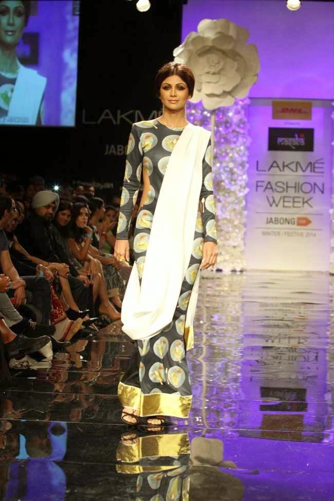 Shilpa Shetty at LFW Winter Festive 2014