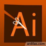 Cara Memotong Gambar Dengan Teks Tulisan - Illustrator AI