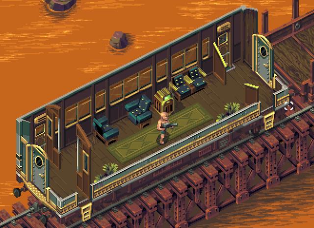 El shooter pixelado Tower57 también aparecerá en Amiga