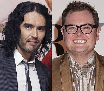 Russell Brand and Alan Carr Which celebrity is the youngest?