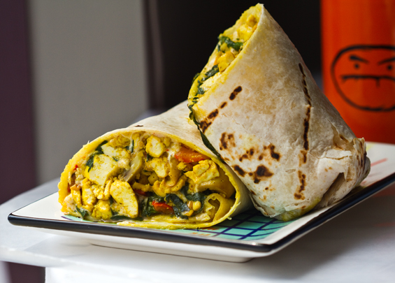 Tears of a Fallen Angel....: Vegan Breakfast Burrito