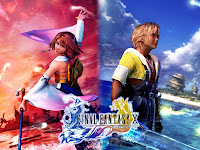 Yuna i Tidus z Final Fantasy X