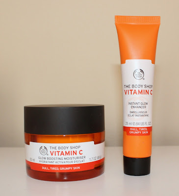 The Body Shop Vitamin C Glow Boosting Moisturiser & Instant Glow Enhancer