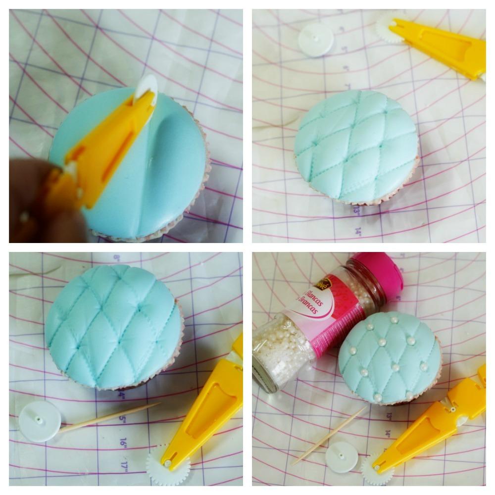 cupcake acolchado