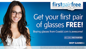 First Pair Free at Coastal.com
