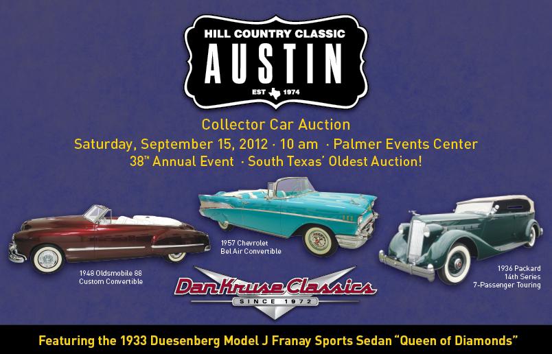 Classic Car Auctions Texas San Marcos