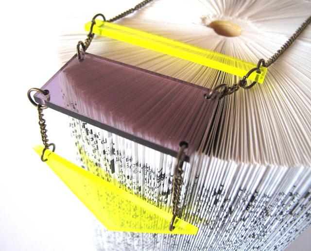 Perspex necklaces by Keri Muller  - simpleintrigue