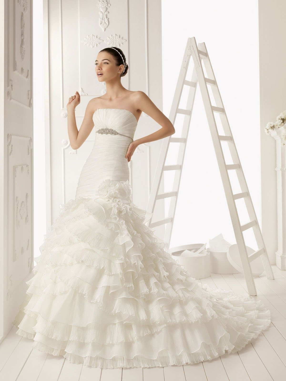 aline wedding dress is the best choice for you