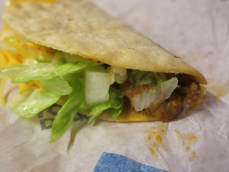 Overall, the Taco Bell's Beef Crunchito provides a different, but very ...