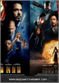 Capa Baixar Filme Homem de Ferro Iron Man 1 e 2   Torrent Baixaki Download