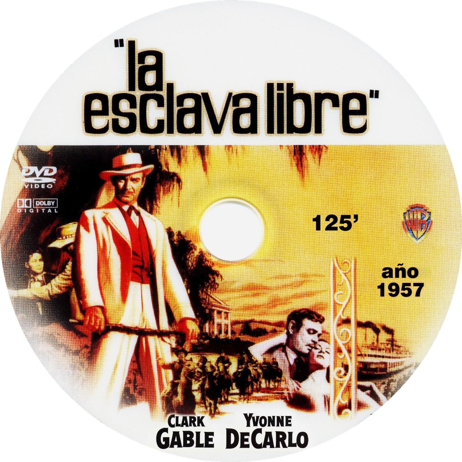 caratulas de pel237culas dvd para cajas cd la esclava libre