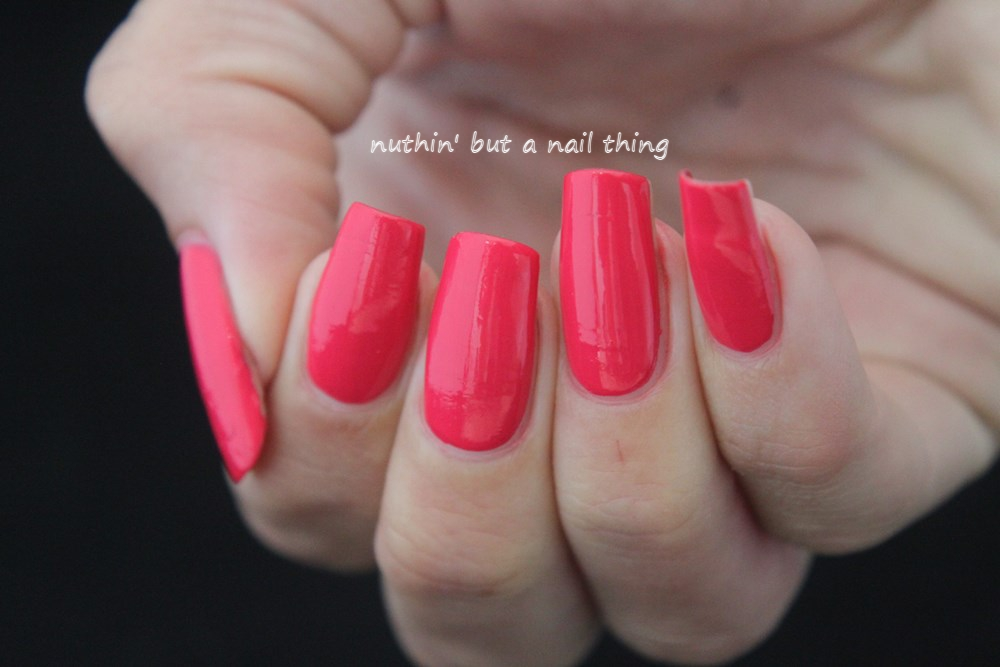nuthin\' but a nail thing: KIKO Power Pro Nail Lacquer - Strawberry ...
