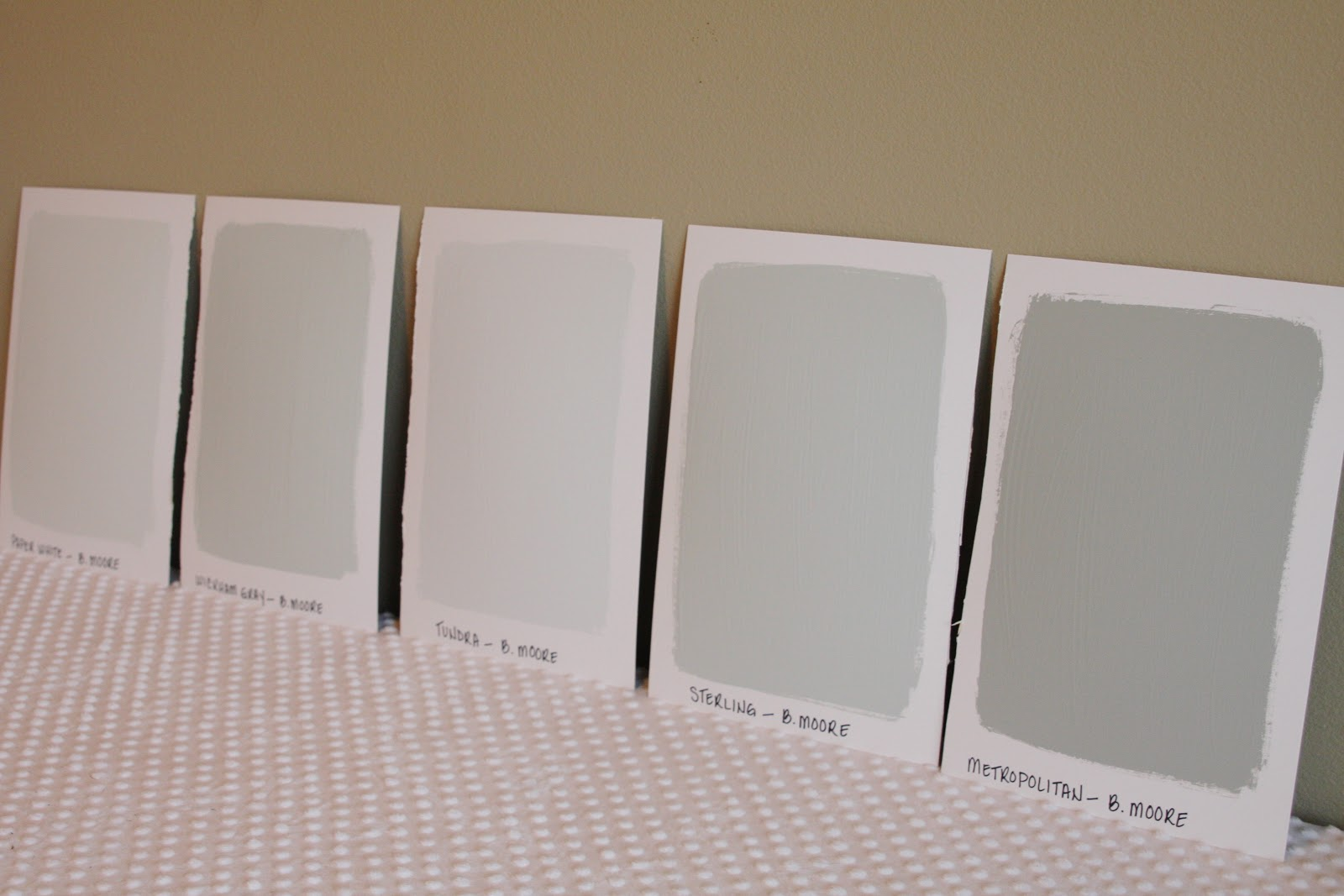 paper white paint colorOversized Paint Samples  simply organized