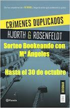 """Sorteo en """"Bookeando con Mª Ángeles"""""""