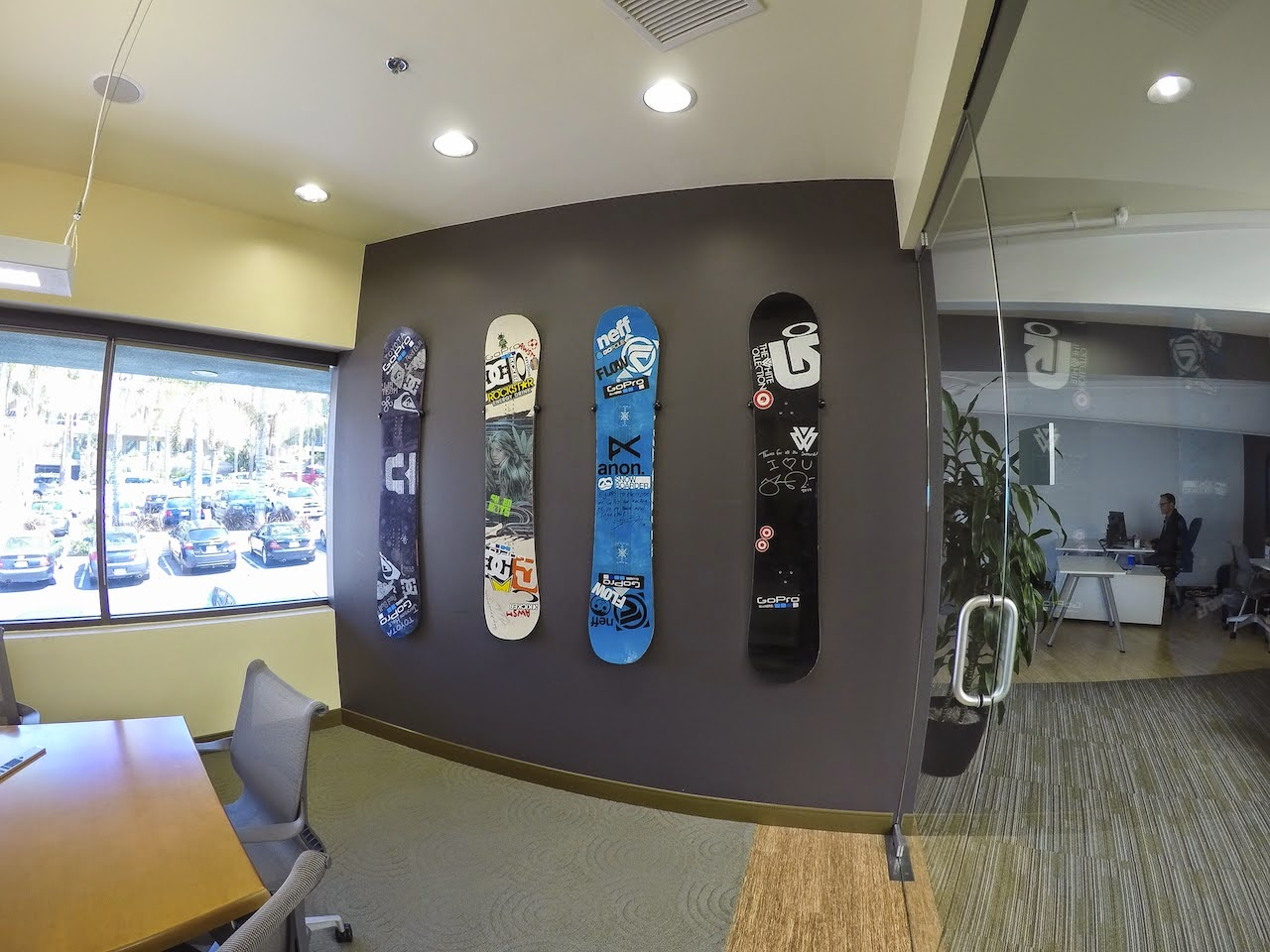 Snowboard wall todosobreelamorfo snowboard wall storeyourboard snowboard deck wall mounts at gopro headquarters amipublicfo Image collections