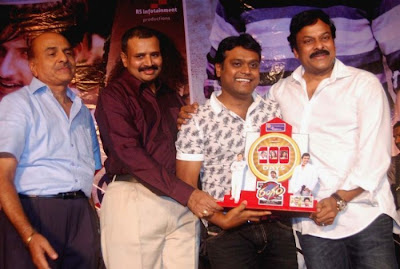 Chiranjeevi @ Rangam Telugu Movie 100 Days Celebration Event Stills Pics Photos release images