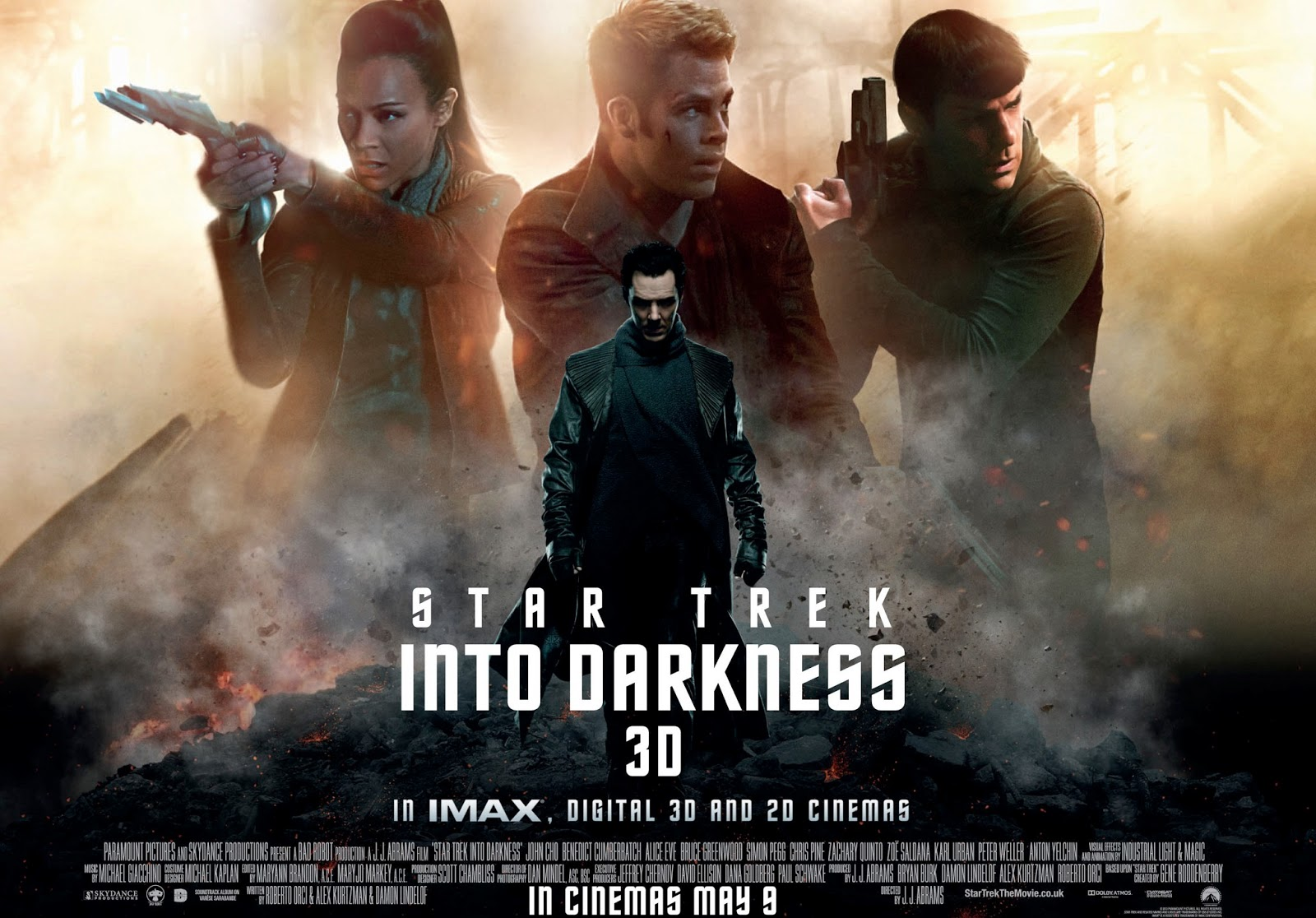 Star Trek Into Darkness: Final Preview